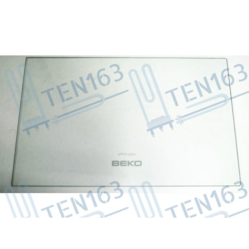 Стекло полки холодильника 453x282x4 Beko 4561820100