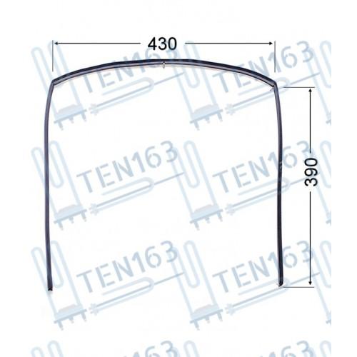 Уплотнительная резина двери духовки для плиты Gefest 1467-04.000A-02