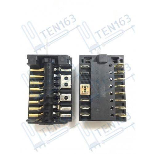 Переключатель для плиты 7 позиций 250V 16A