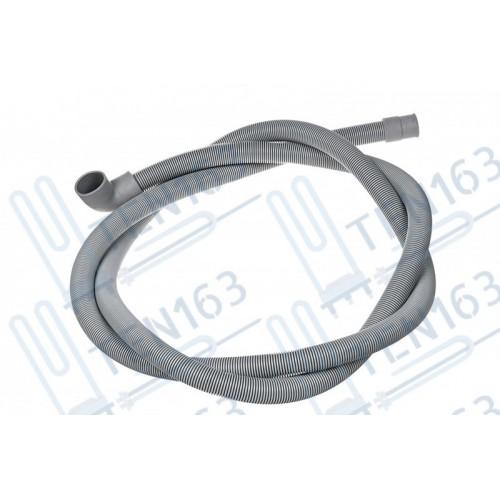 Шланг сливной для стиральной машины Г- образный 2м D21-29мм