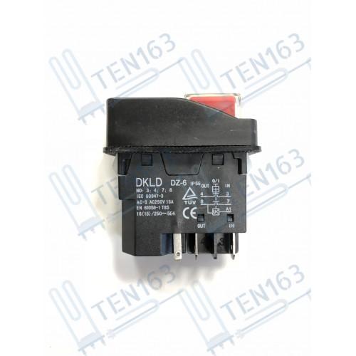 Выключатель на сверлильный станок, компрессор нового образца 5 клемм