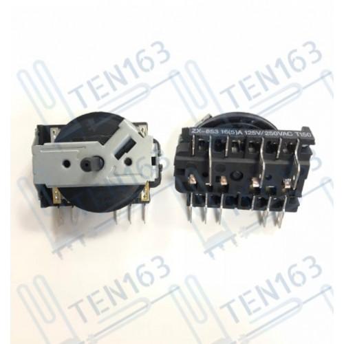 Переключатель для плиты 2 позиции ZX-853 16(5)А 125/250V