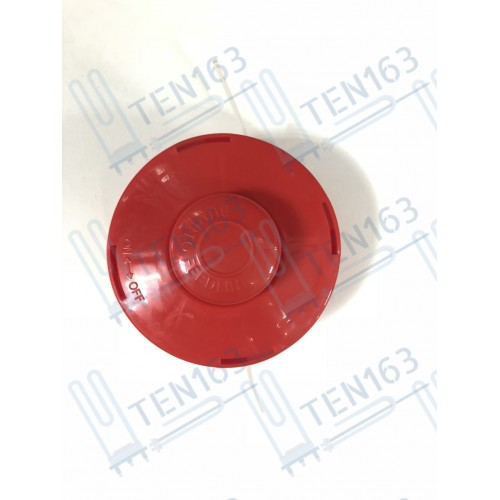 Барабан для лески триммера красная M10x1.25 левая