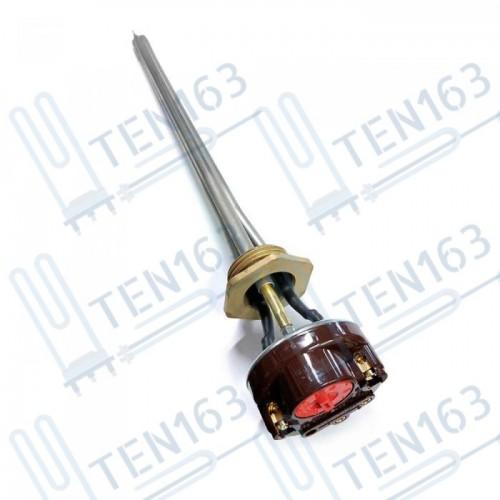 """ТЭН RDT G1"""" 700 Вт для радиатора с термостатом правая резьба"""
