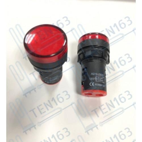 Выключатель с подсветкой красный светодиод