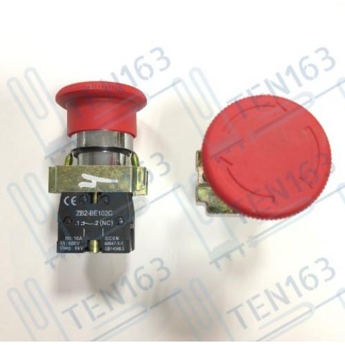 Выключатель аварийный стоп ZB2-BE102C