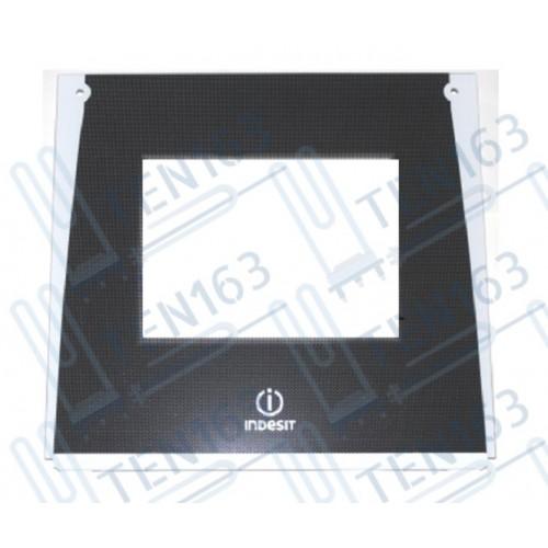 Стекло двери духовки, наружное для плит INDESIT C00285483 Original
