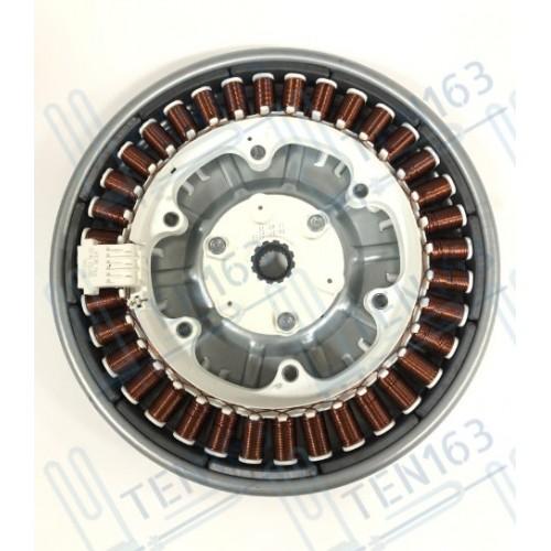 Двигатель стиральной машины LG прямой привод в сборе ротор MBF618448 + статор MEV644583