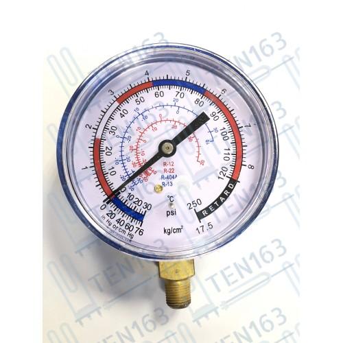 Манометр низкого давления 80мм DSZL/P R12,22,134,404