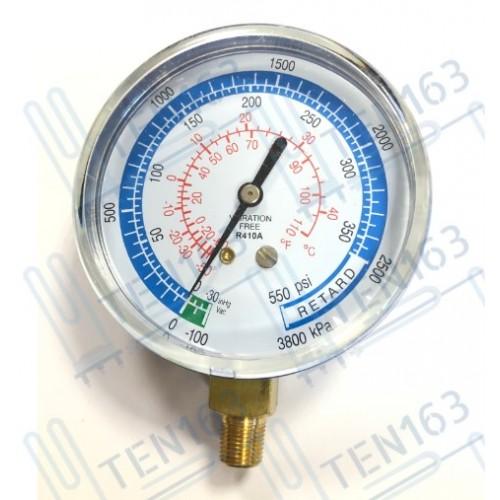 Манометр низкого давления 80мм DSЕL R410