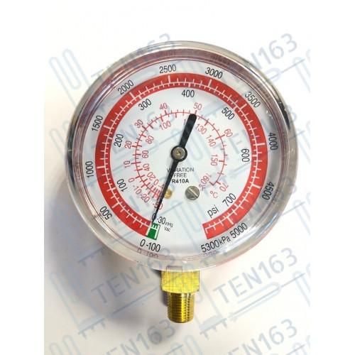 Манометр высокого давления 80мм DSВН R410