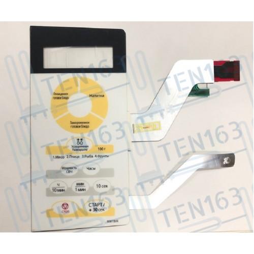 Панель сенсорная СВЧ Samsung DE34-00193G, MW73VR