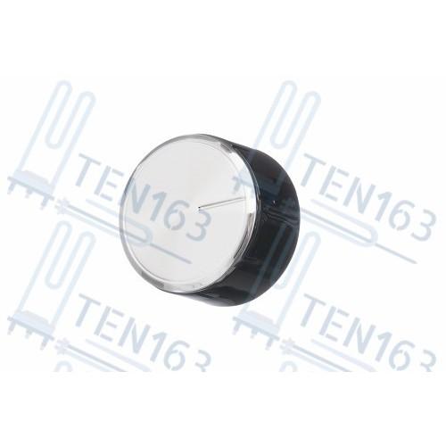 Ручка конфорки газовой варочной панели, чёрная, стальная Bosch