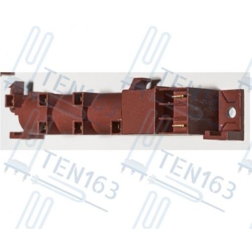 Блок электророзжига 6 контактов узкий без заземления COK602UN ИТАЛИЯ