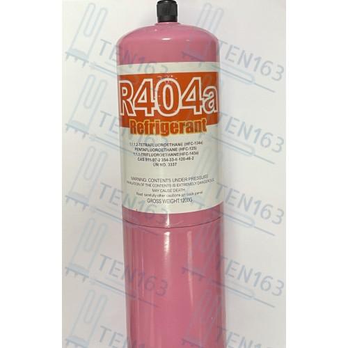 Фреон 404 1200г с клапаном шредера