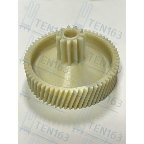 Шестеренка для мясорубки Ротор D=67/20mm, зубья 63/11шт, косой/прямой
