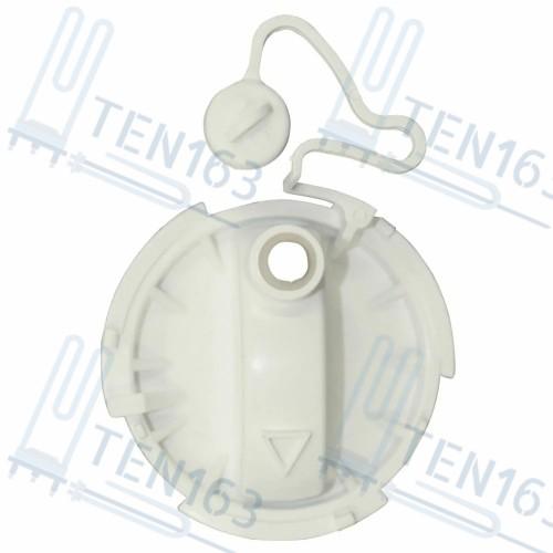 Крышка фильтра сливного насоса стиральной машины Electrolux 1323823037