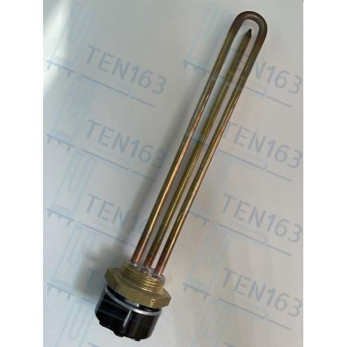 ТЭН для нагрева воды в водонагревателе, бочке, душе 3000 Вт Китай медь