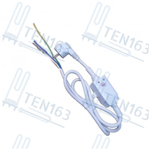 Шнур сетевой с УЗО 16/0,03А, 220V контакты без разъёма