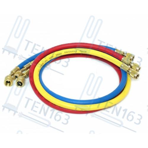 """Шланг заправочный 36"""" (90см) R-410 (800-4000 PSI) 1/4x5/16 SAE 1шт"""