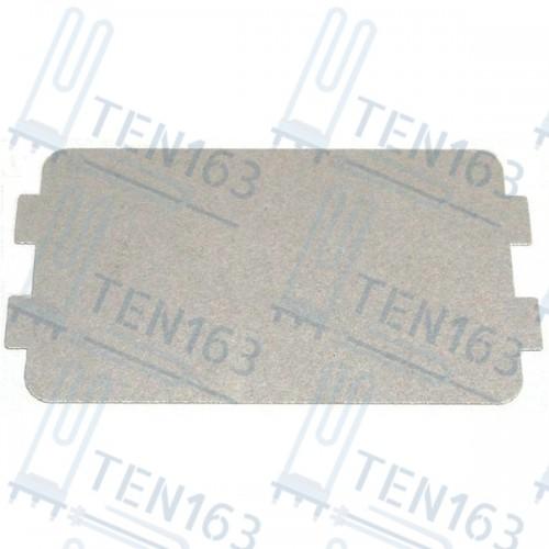 Слюда для микроволновой печи СВЧ Panasonic, Gorenje, Supra 115x65 mm