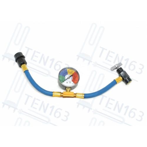 Шланг для заправки автокондиционера c манометром FC-PL802G50