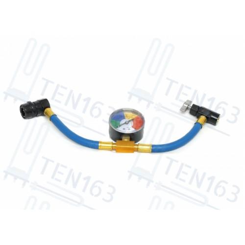 Шланг для заправки автокондиционера c манометром FC-PL801G50