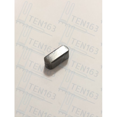Шпонка полукруглая 4x10