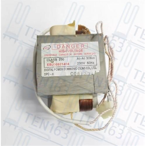 Трансформатор для микроволновой печи LG EBJ30921404
