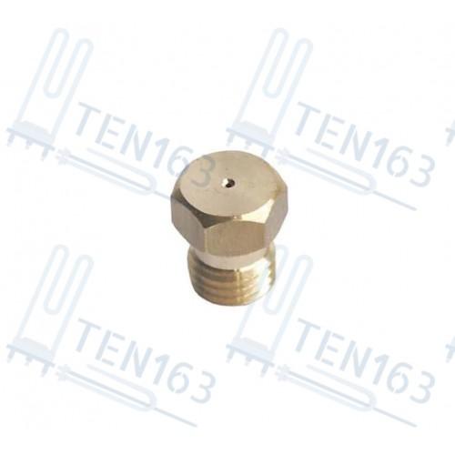 Форсунка для духовки Indesit C00035094 D= 65, резьба D-6.8mm, шаг 08mm
