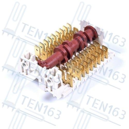 Переключатель режимов духовки к плитам, духовкам Bosch, Siemens 00615164, 9 позиций
