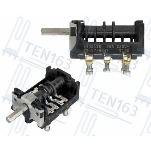 Переключатель конфорки для промышленных электроплит 7LA 840511K