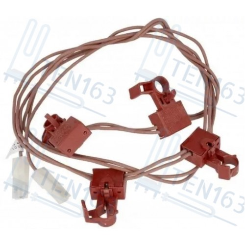 Комплект кнопок электроподжига для плиты Ariston, Indesit C00143913