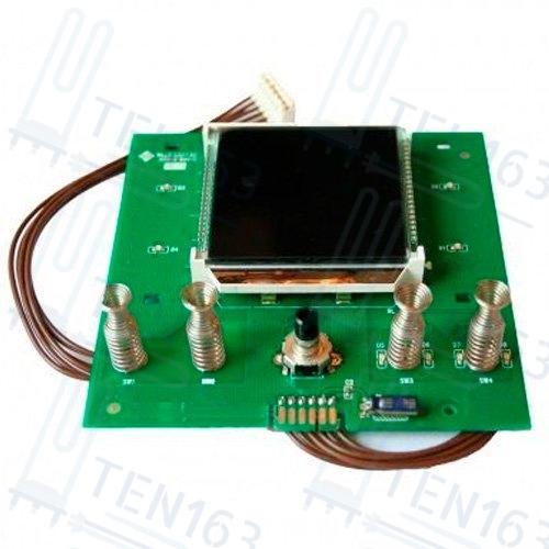 Плата FLAT TOP Control с ЖК дисплеем для Ariston ABS VLS: QH, PREMIUM