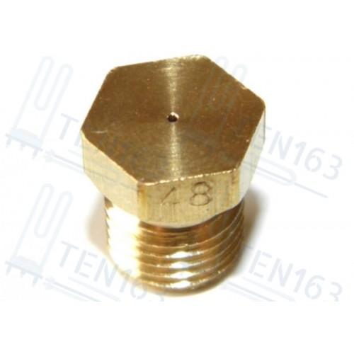 Форсунка, жиклер D=48 резьба D-6.8mm шаг 08mm Indesit C00035096