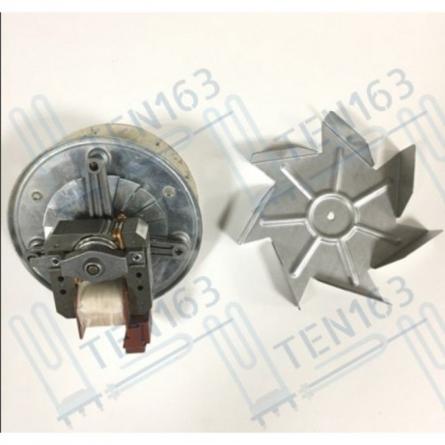 Мотор вентилятора конвекции духовки 12.5мм, 30 Вт Италия