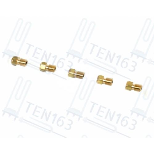 Комплект жиклёров, форсунок газовой плиты GEFEST М6*0,75 природный газ