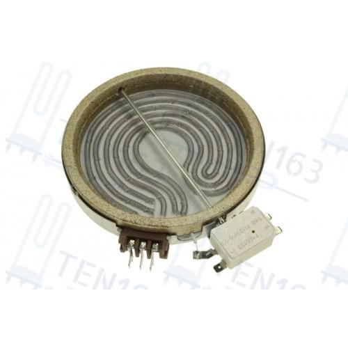 Электроконфорка для плиты Indesit Ariston, Indesit 1200 Вт D145мм C00139052