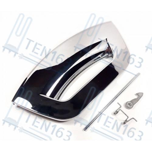 Ручка для стиральной машины Hotpoint Ariston, Indesit C00287769 Хром