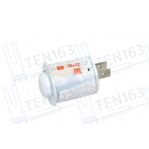 Кнопка подсветки для плиты GEFEST, Лысьва, ПКН-12 белая