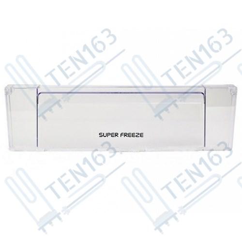 Панель ящика холодильника Аристон-Индезит-Стинол, прозрачная, узкая, 257133