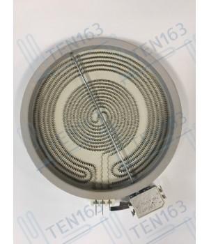 Электрическая конфорка EIKA (стеклокерамика), D=230mm, 2100-700W, с расширенной зоной