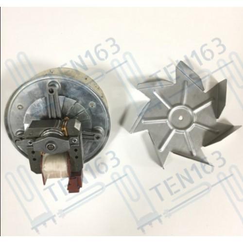 Мотор вентилятора конвекции духовки 28мм, 35w