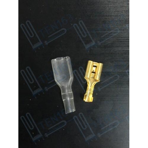 Разъем с термостойкой изоляцией для подключения проводов