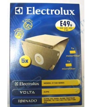 Мешки для пыли бумажные Electrolux Е49N