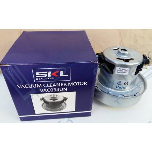 Мотор пылесоса SKL 1400 W, H=122 mm, h=48mm, D=130/80mm