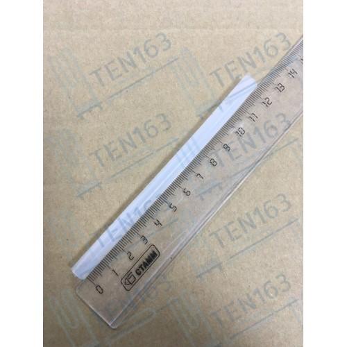 Трубка силиконовая термостойкая 091 L=12,3 см, D=5мм