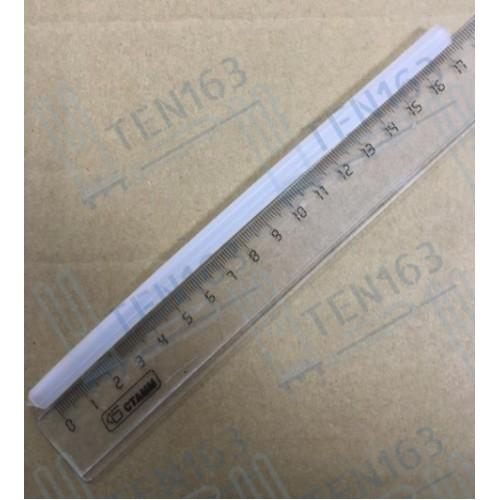 Трубка силиконовая термостойкая 132 L=17,2 см, D=5 мм