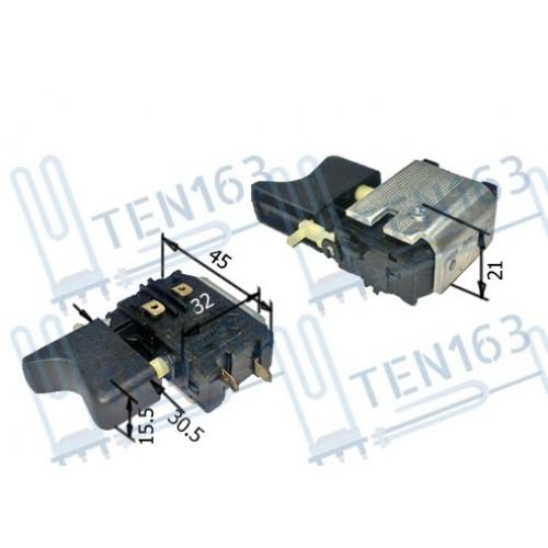 Выключатель (кнопка) для шуруповерта Интерскол 12В, 14В, 18В