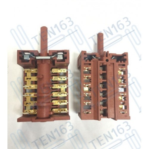 Переключатель 8701 для плиты Дарина 7 позиций 250V 16A